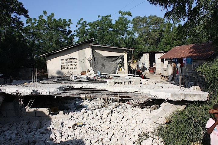 Destruction in villages