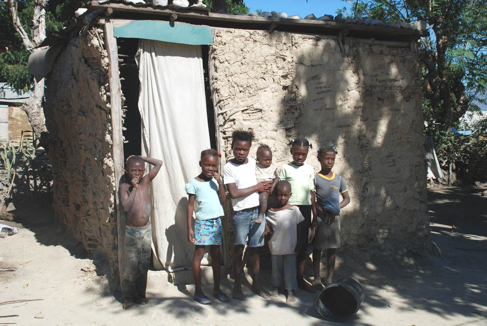 Typical Home Of Many Rural Haitians