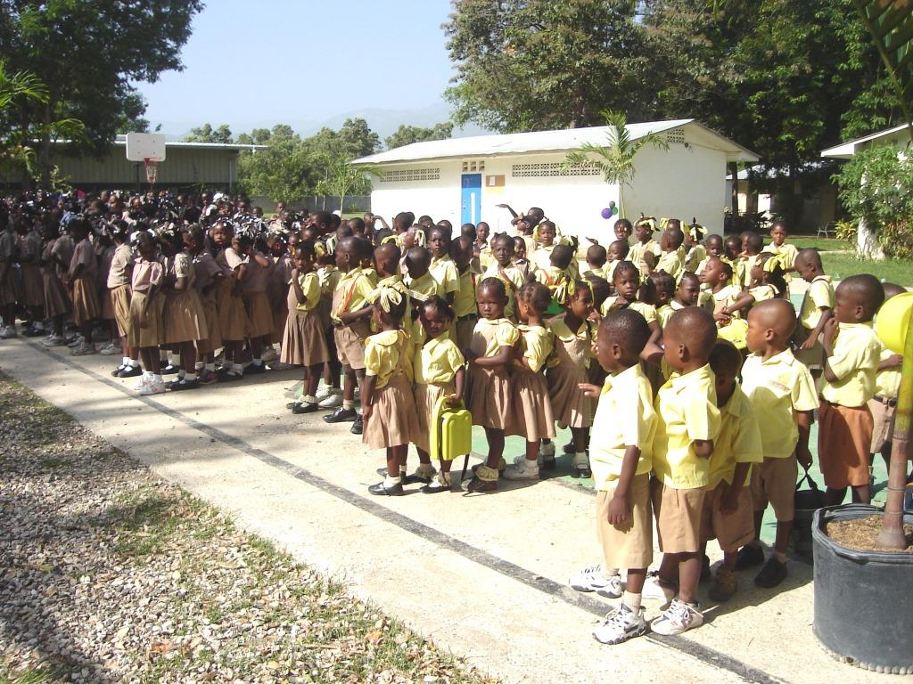 Double Harvest School - Morning Assembly
