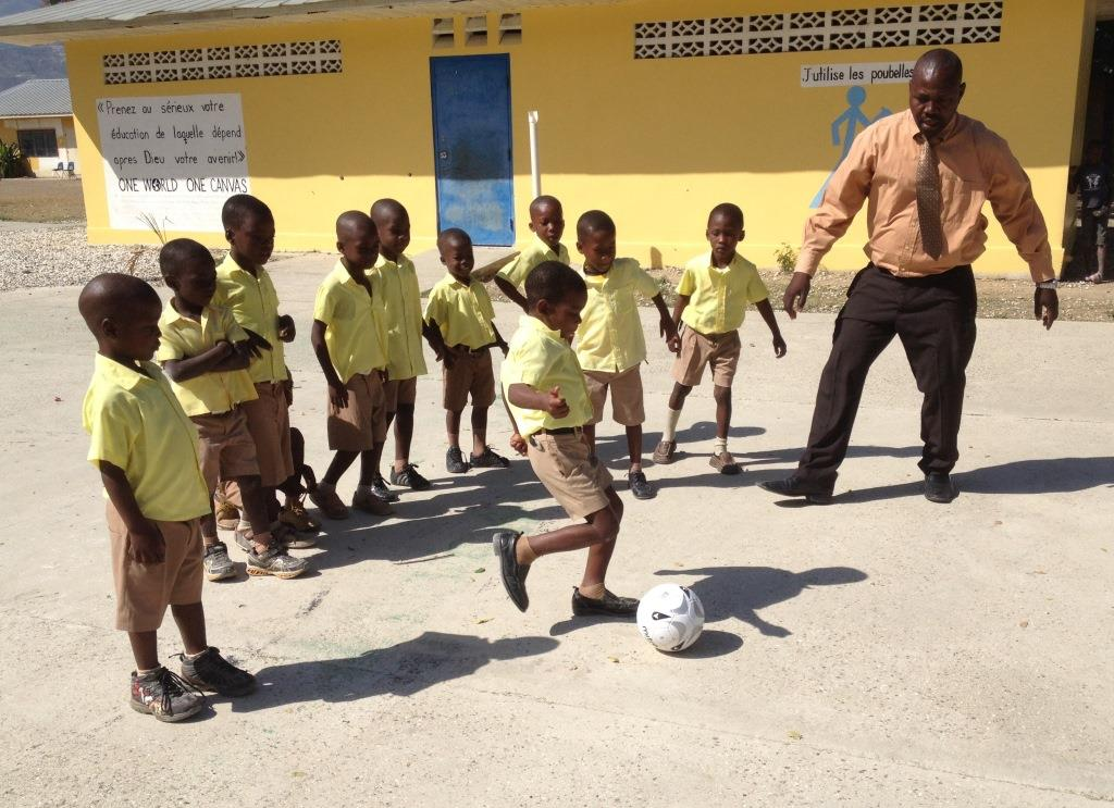 Learning Haiti's Favorite Sport