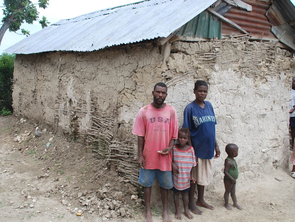 Living Conditions for Many Rural Haitians