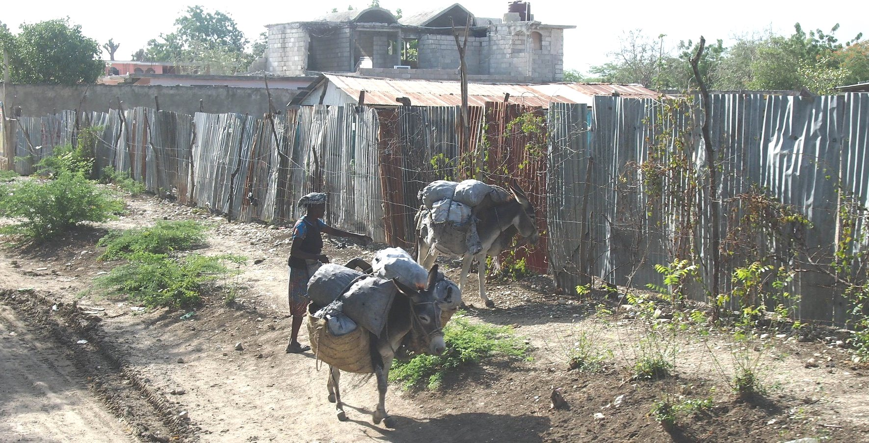 Transportation for Many Rural Haitians