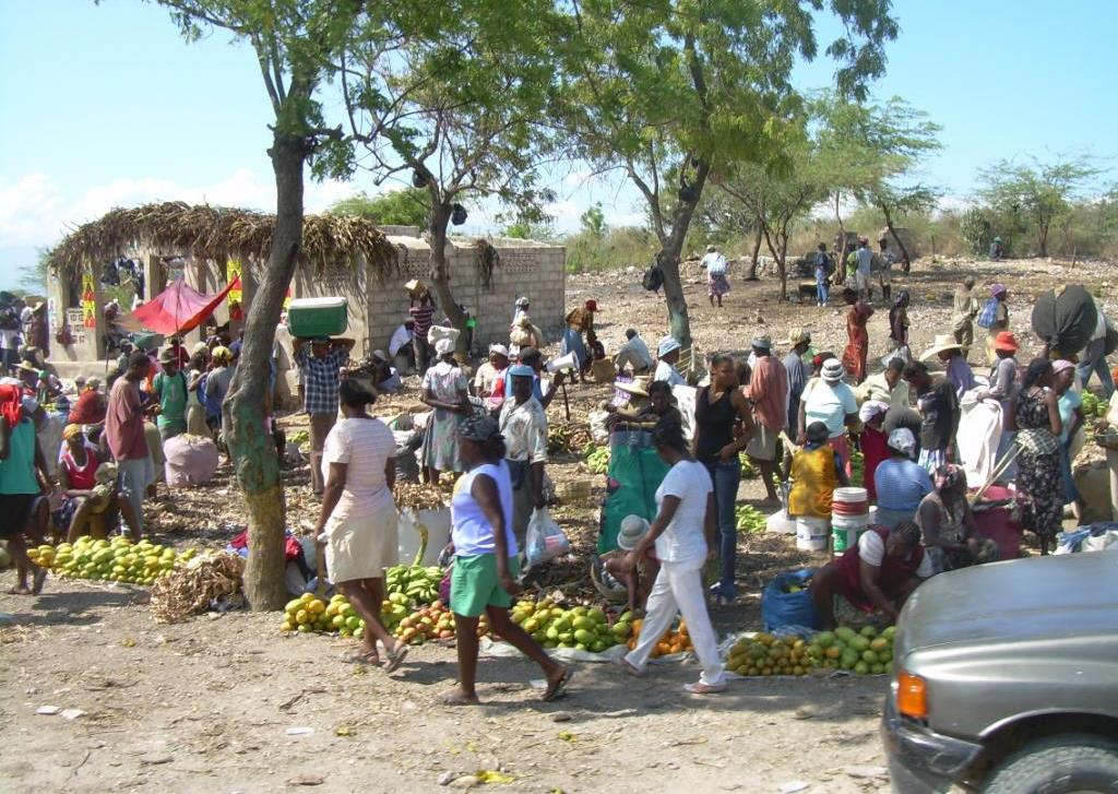 Makeshift Village Market