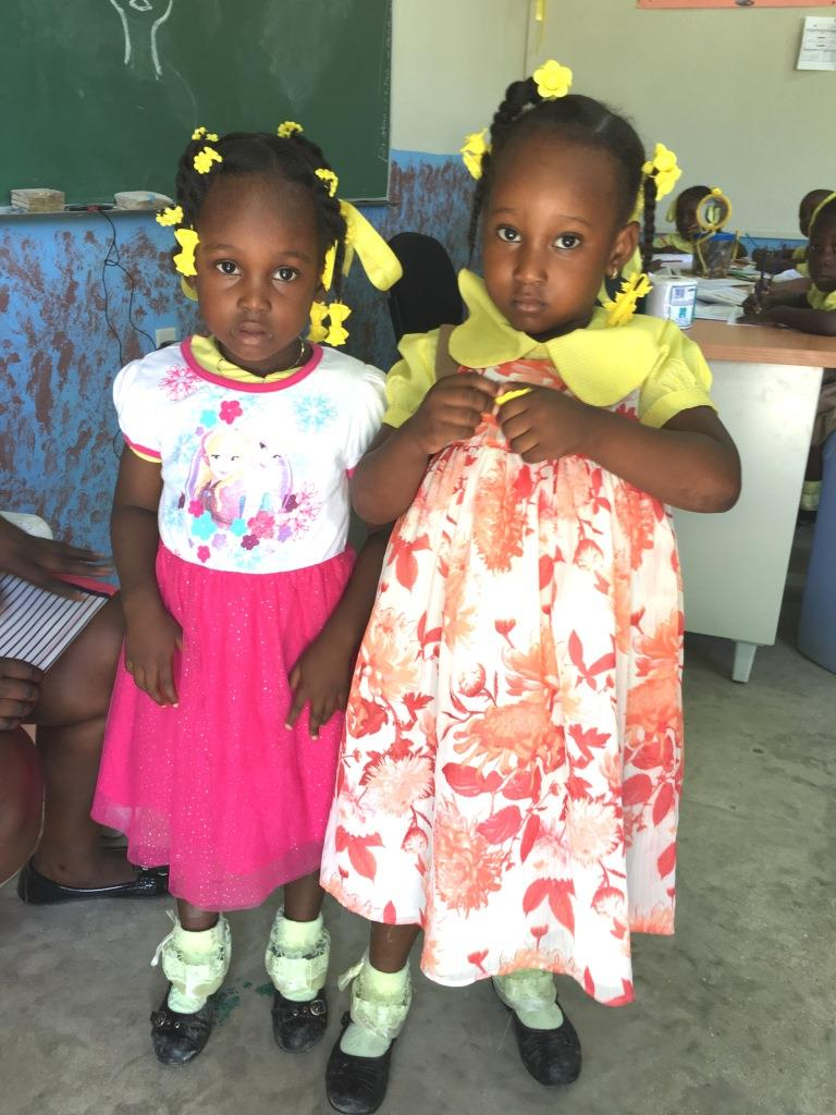 New Dresses Over School Uniforms