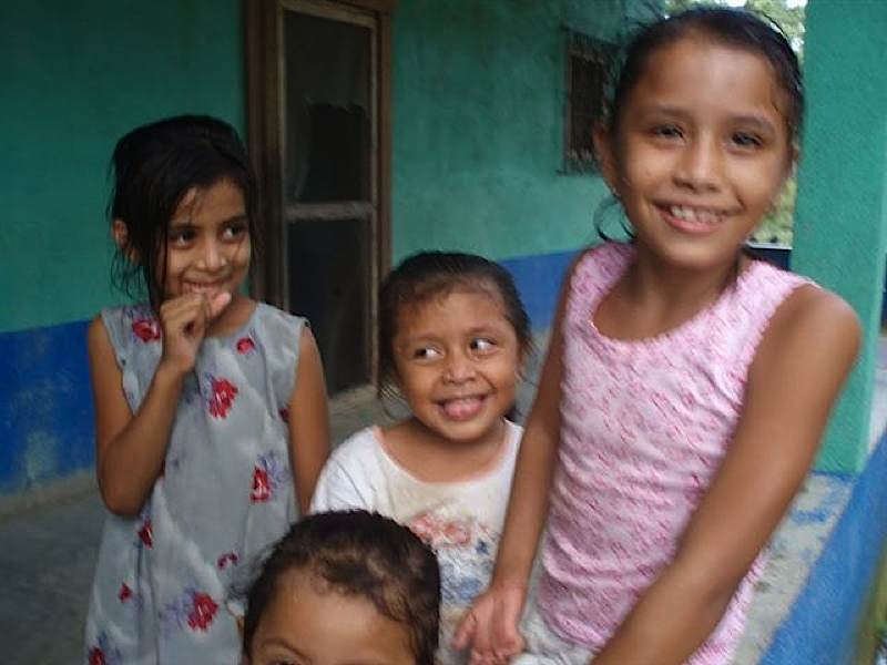 Children's Group at Church in Riachuello