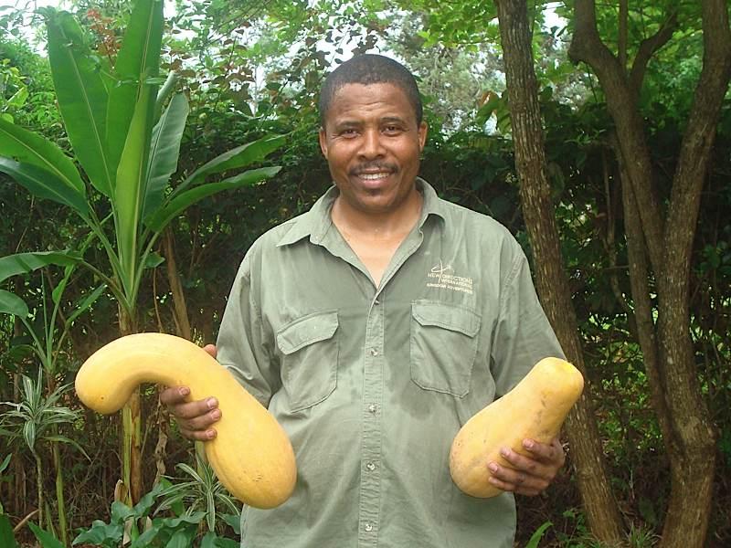 Bishop Trevor, pastor/farmer